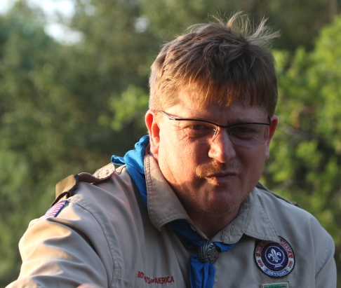 Bill Norton, Troop 7 Scoutmaster