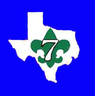 Troop 7 - past logo